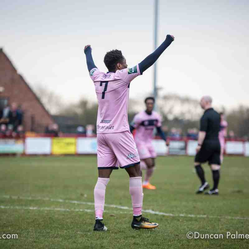Needham Market 0 - 3 Dulwich Hamlet, 24th March 2018