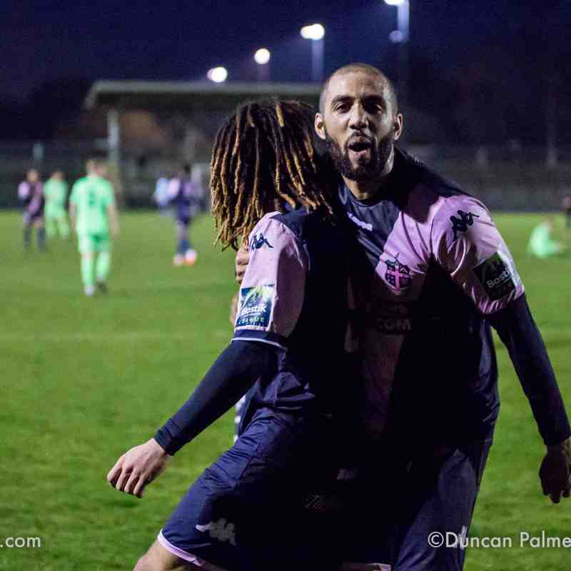Dulwich Hamlet 4 - 0 Dorking Wanderers, 12th April 2018
