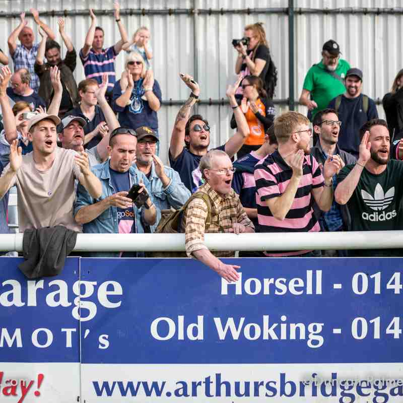 Woking 1 - 2 Dulwich Hamlet, 15th September 2018