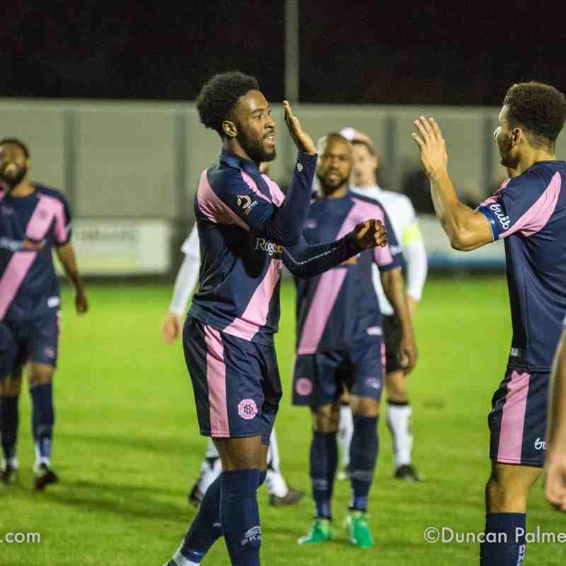 Dulwich Hamlet 3 - 3 Weston-super-Mare, 6th November 2018