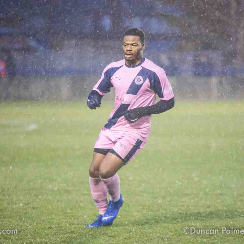 Wingate & Finchley 2 - 0 Dulwich Hamlet, 15th December 2018 (FA Trophy 1st Round)