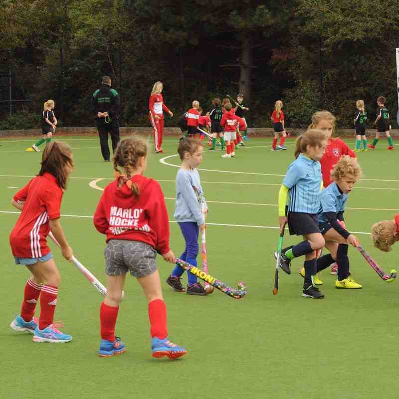 First tournament U8 at Henley