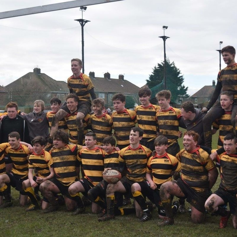 Under 18s beat Stockton Senior Colts 70 - 43