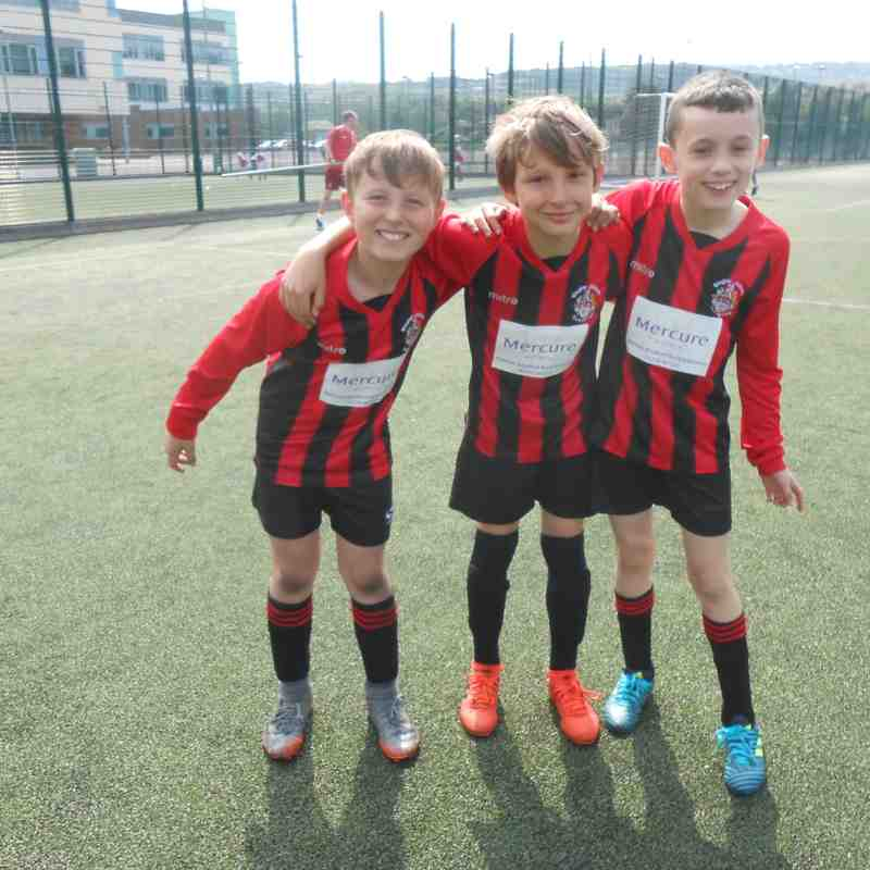 Athletico U10s (20th. May 2018) 9 a-side Friendly