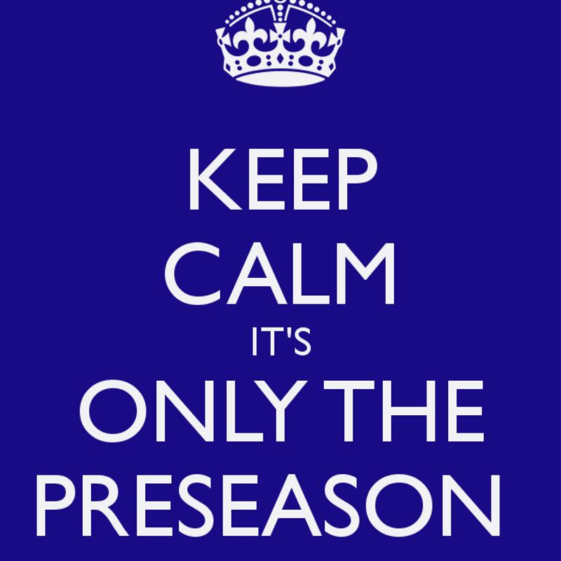 Pre-Season due to begin