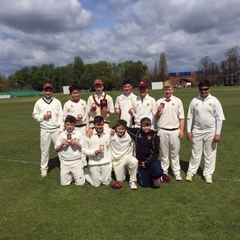 Guildford U14 win the West Surrey League Cup