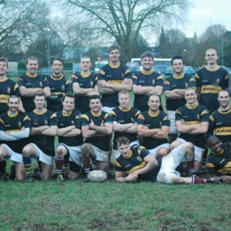 University of Winchester  1st XV lose to University of Exeter Mens 6th  50 - 31