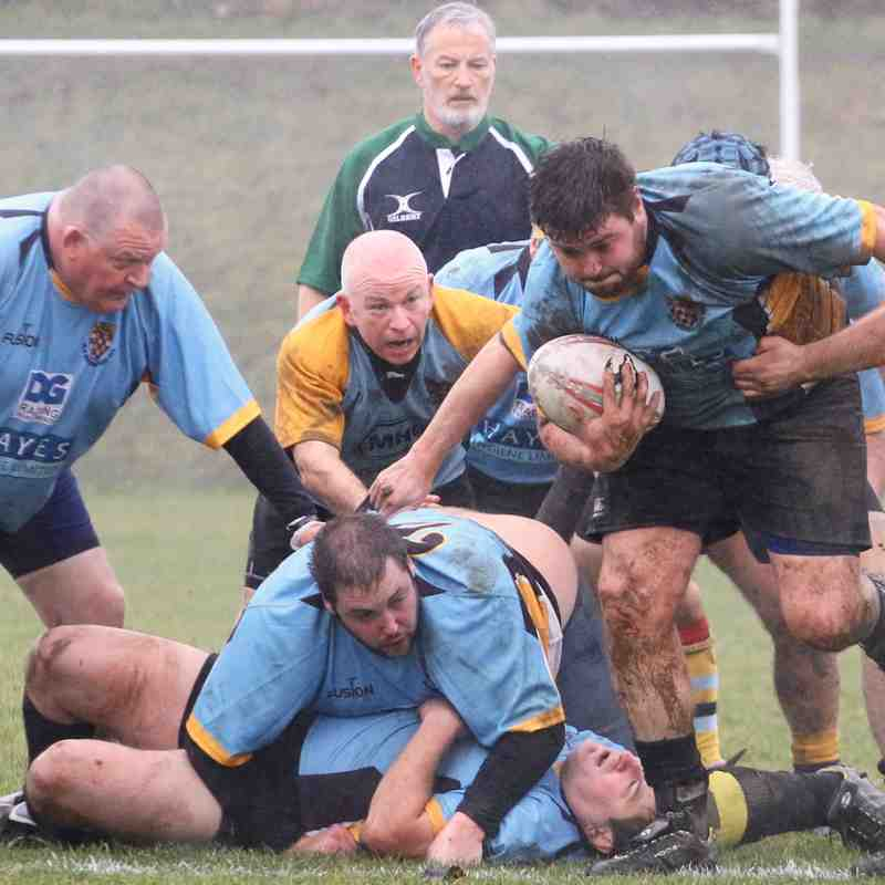 OWRFC 3's v Old Suttonians - 21/1/2018