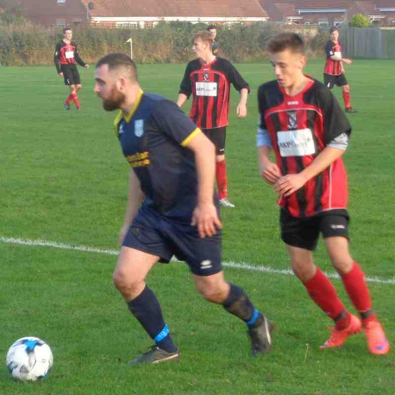 Mablethorpe Athletic 3-3 Cleethorpes Town 'A' (31/10/15)