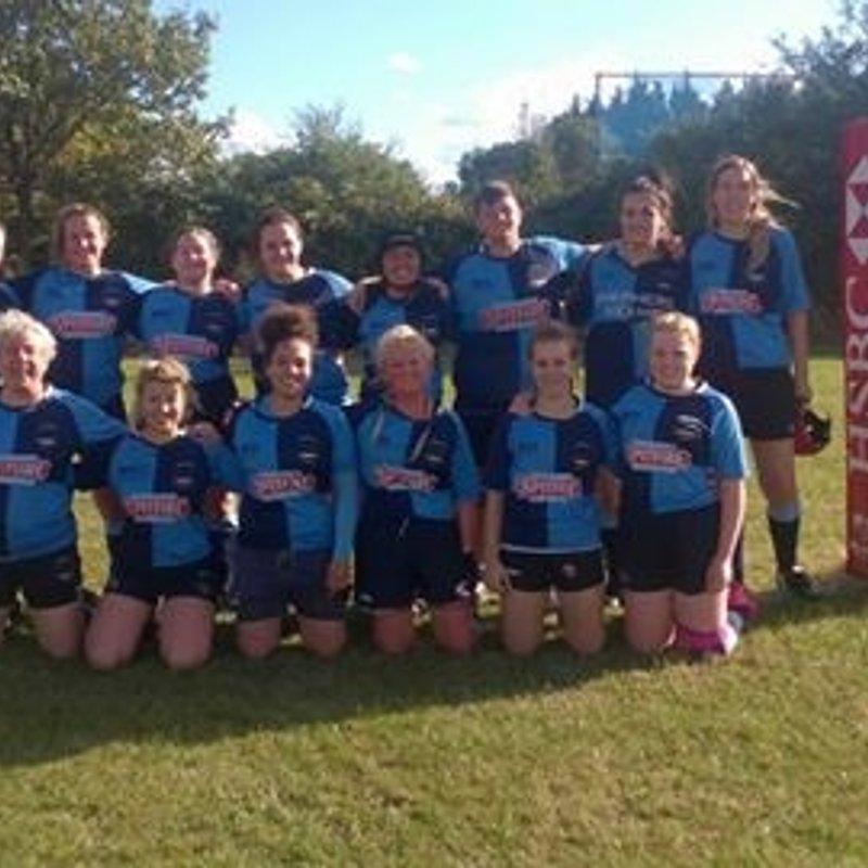 Faversham Ladies gain 1st win 17-39