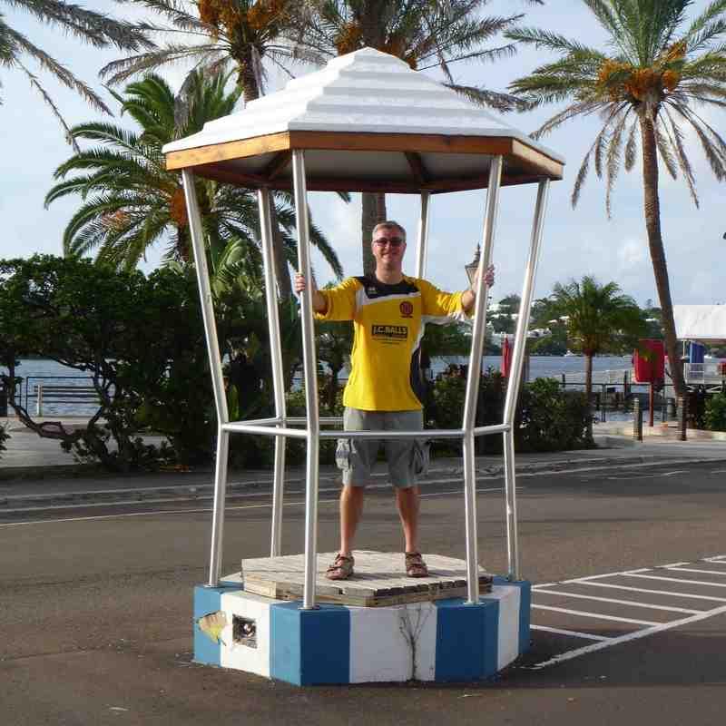 Nailers On Tour. Bermuda November 2014