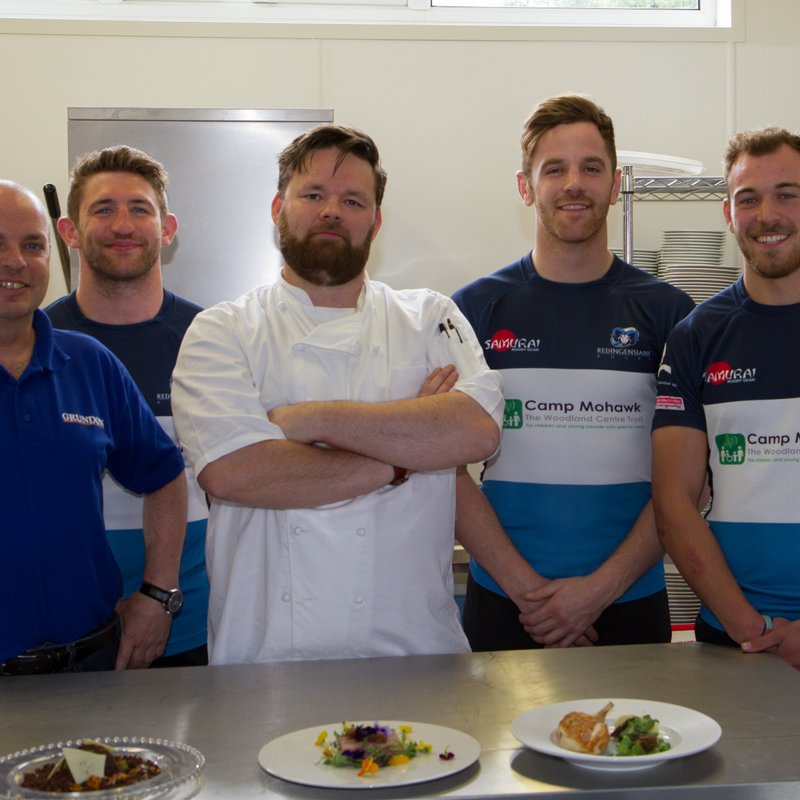 Grundon's £30,000 environmental grant serves up new kitchen to Rams Rugby Team!
