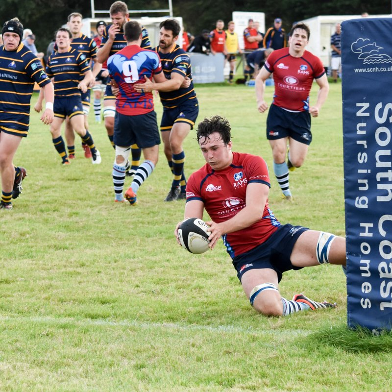 Powerful Rams too much for gallant Raiders