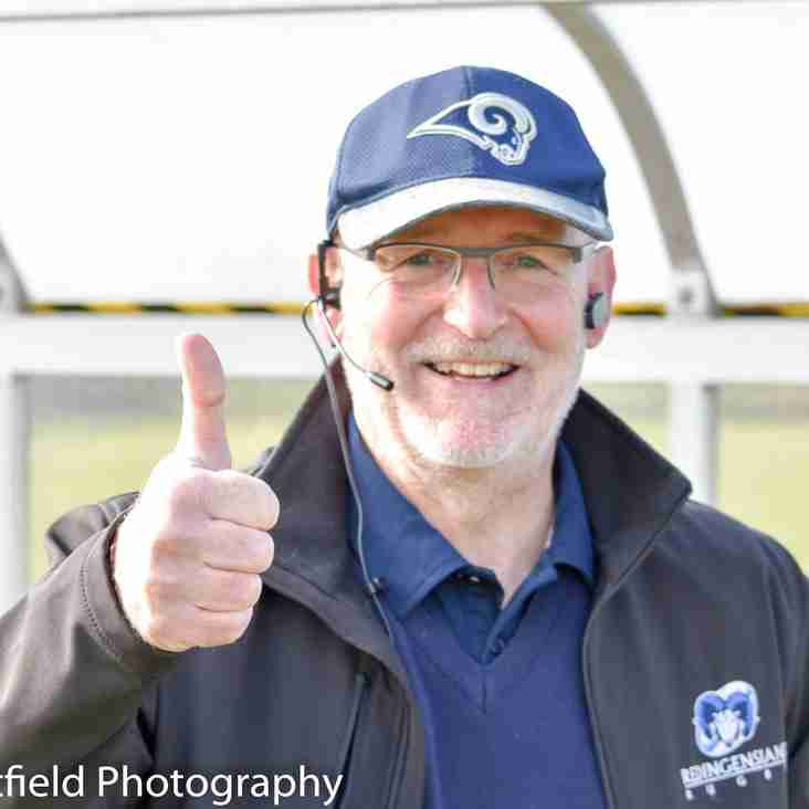 Message from Club CEO, Gary Reynolds