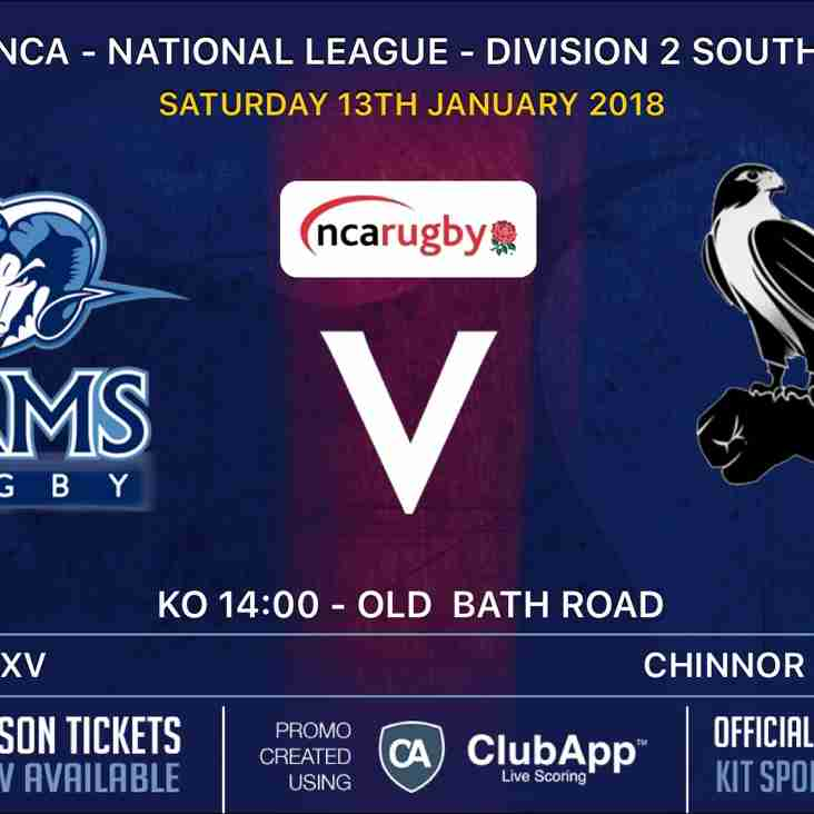 Rams teams in action Saturday 13th January 2018