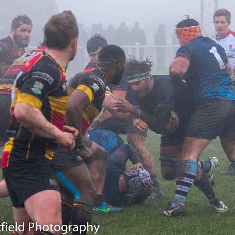 Rams 1st XV v Cinderford (Away) 20th Jan 2018