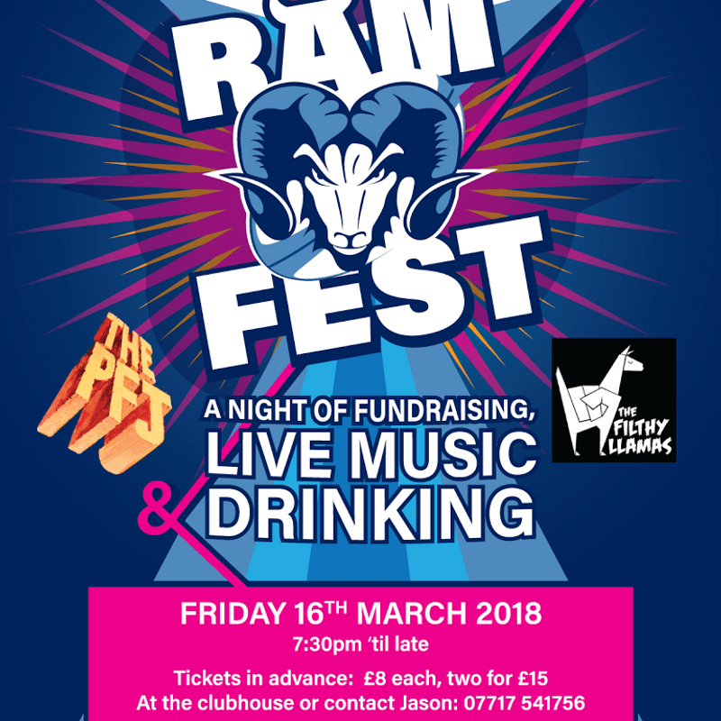 RAM FEST 2018! Live Music and beer.