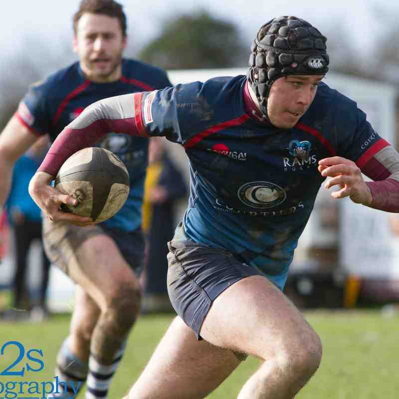 Rams 1st XV v Barnstaple Away 17th Feb 2018
