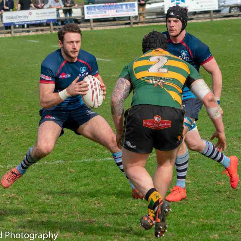 Rams 1st XV v Bury St Edmunds Away 7th April 2018