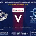 Rams teams in league action Saturday 21st April 2018 - updated