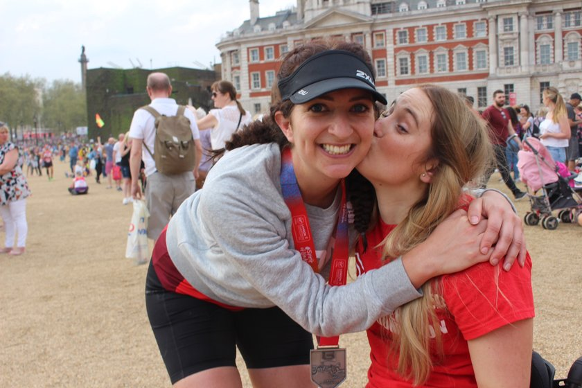 Read Sarah's account of running the London Marathon - #DoingitforDani
