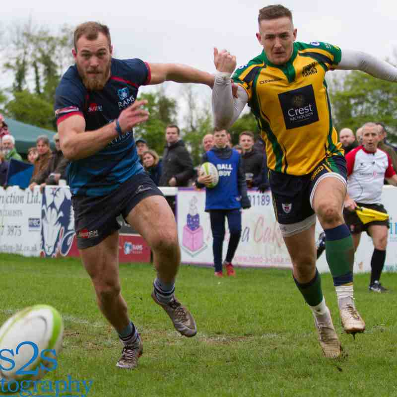 Rams 1st XV v Henley Hawks (Home) 28th April 2018