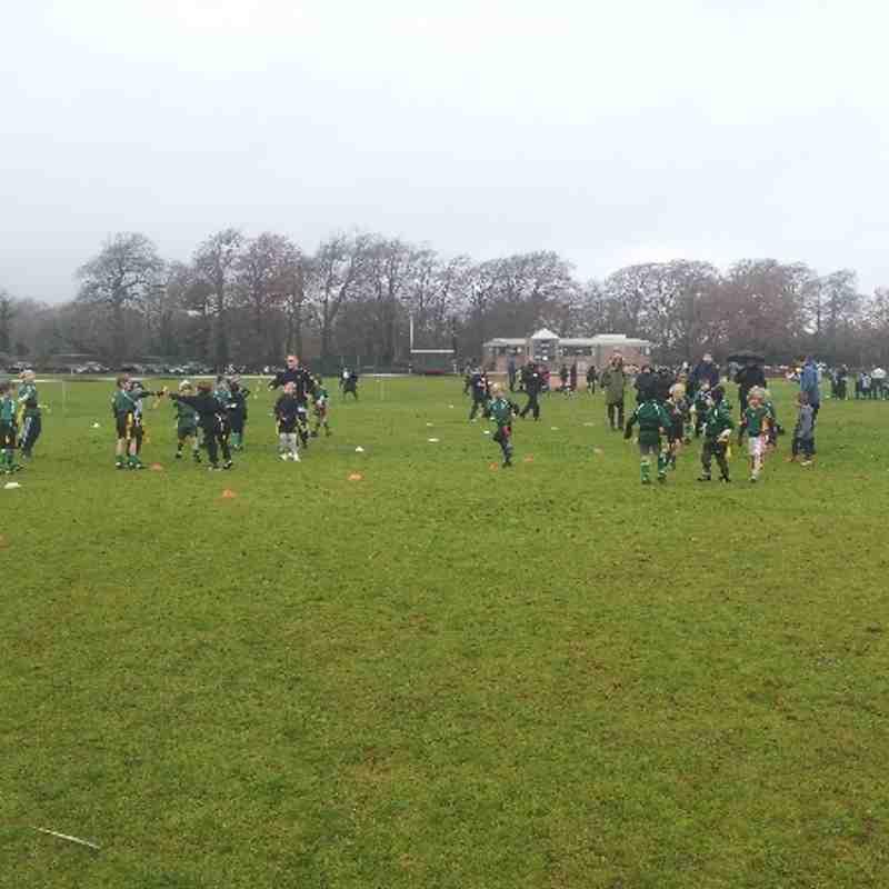 OB Under 7 v North Bristol