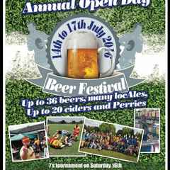 Annual Beer & Cider Festival + 7's Tournament