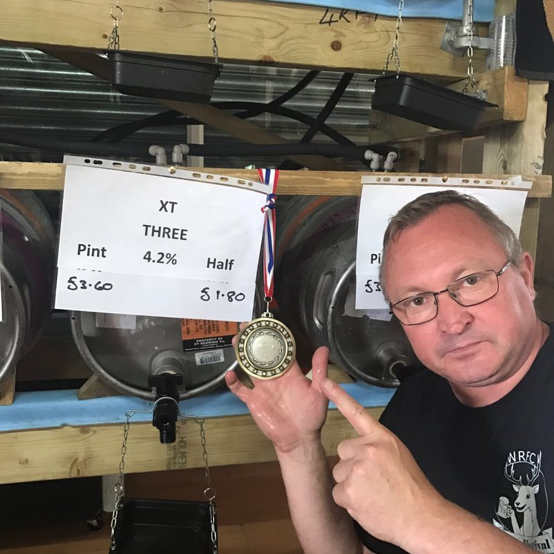 XT 3 Wins Beer of the Festival!