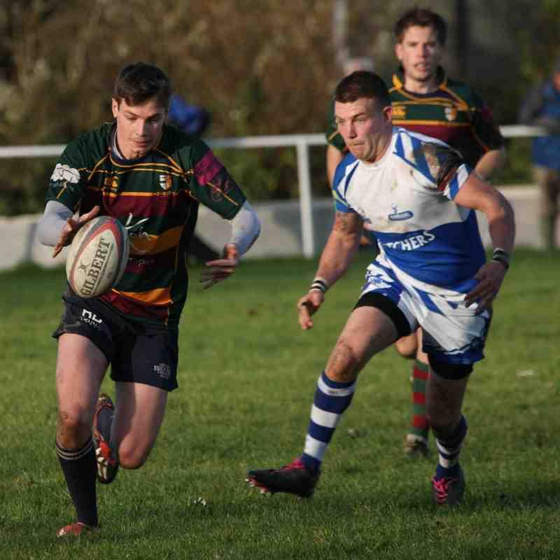 1st Xv action at Burnham