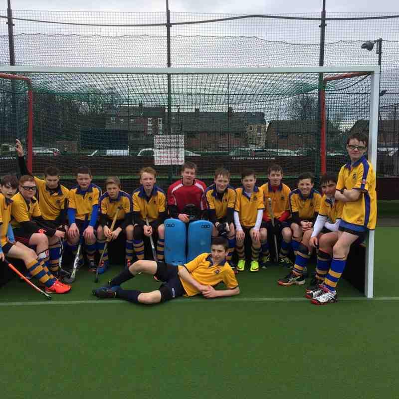 U14A Boys Team 2014/15