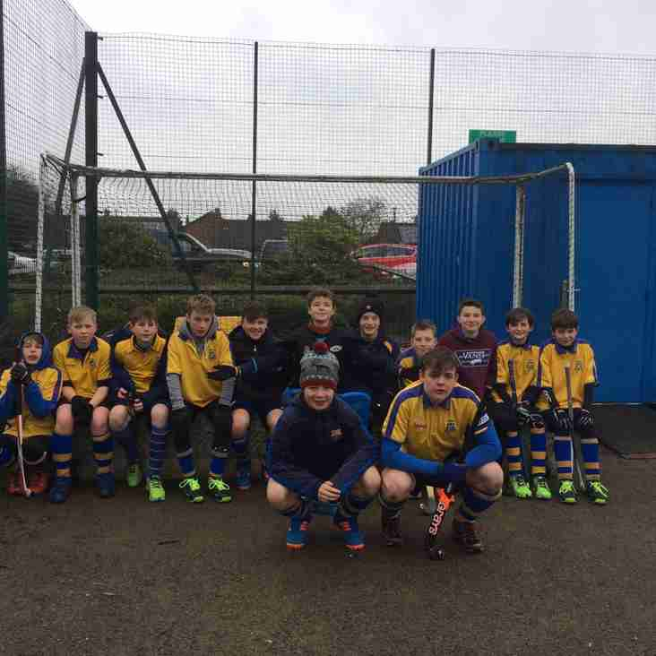 Thirsk's U14 boys do themselves few favours in Div 3 YYHL outing
