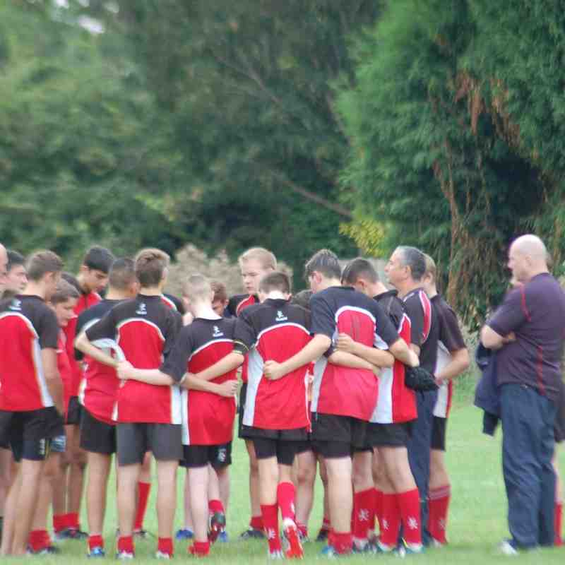 Under 15's V Sutton Coldfield 7th September 2015