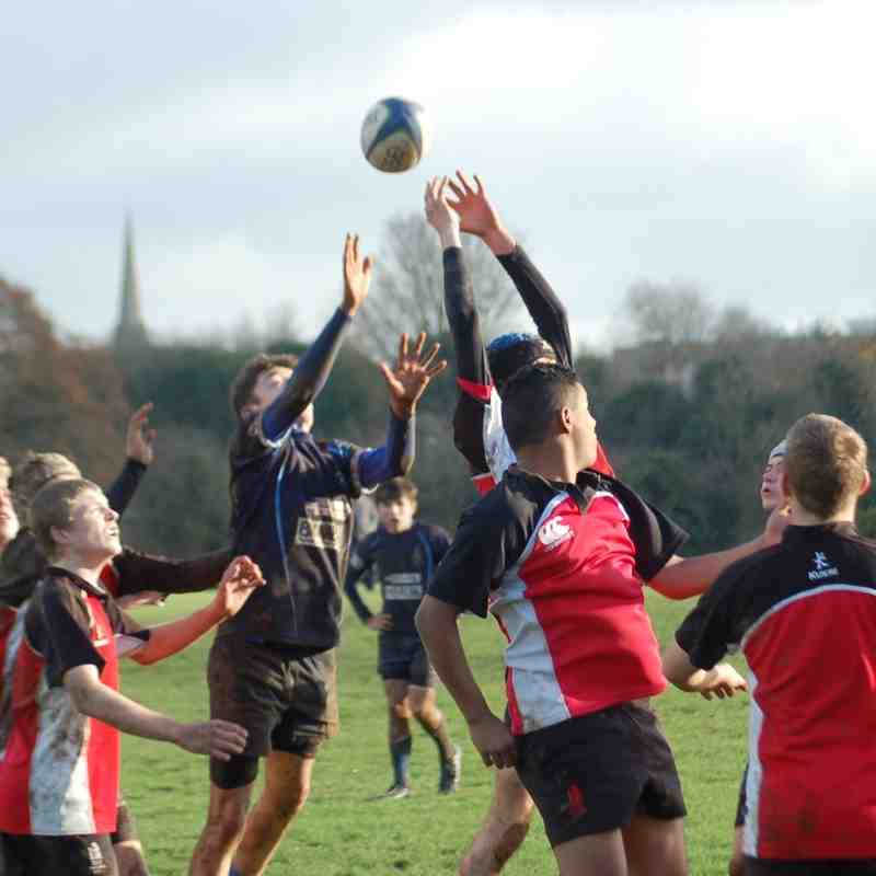 Under 15's V Redditch 30 Nov 2014