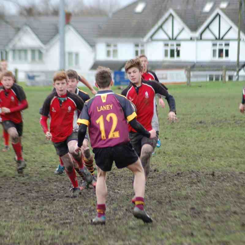 Under 15's V Willenhall 7th December 2014