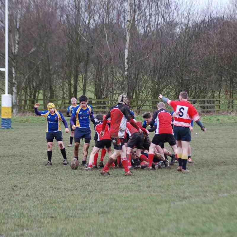 Under 15's versus Market Bosworth 22nd February 2015
