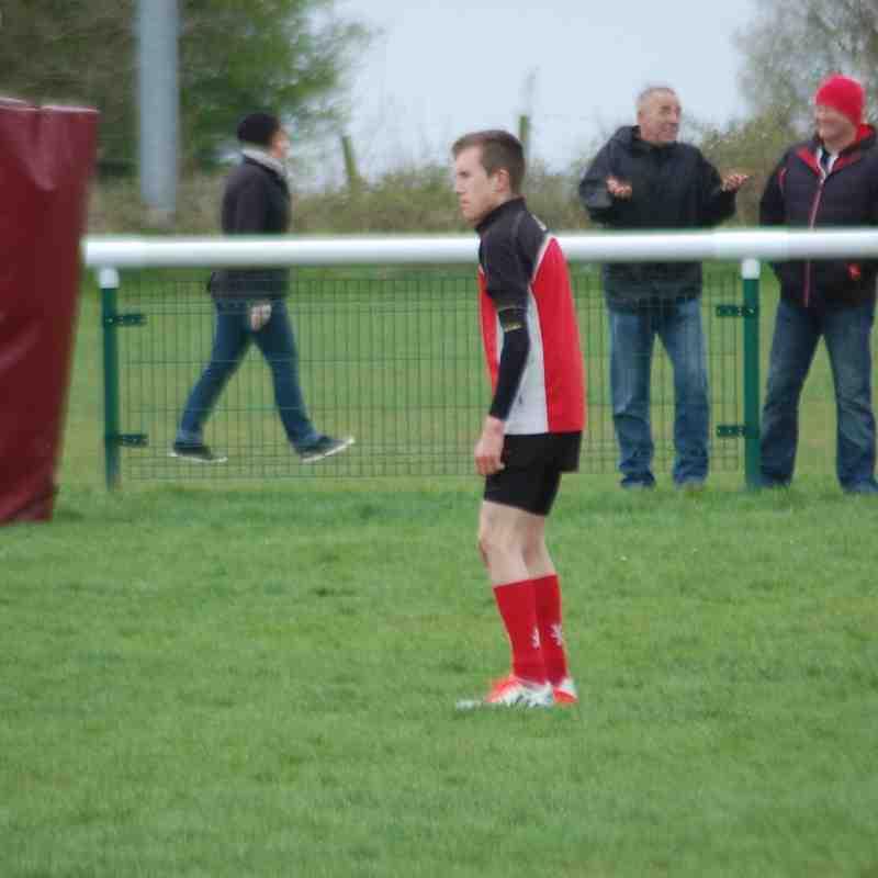 Under 15's Staffs Cup Final V Lichfield