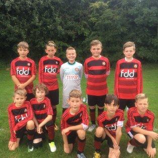 Boys played some good football
