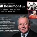 Corporate Sponsor Needed - Bill Beaumont Evening