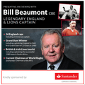 An Evening with Bill Beaumont  - Jan 25th