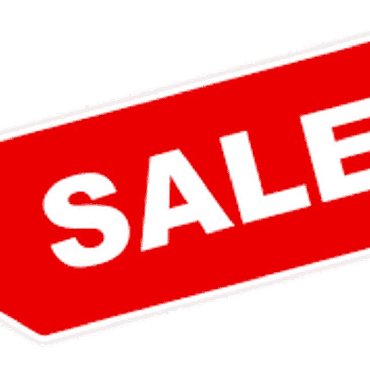Club Merchandise Sale  - This Sunday 17th Dec