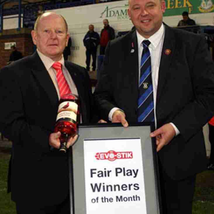 August First South Fair Play Winners