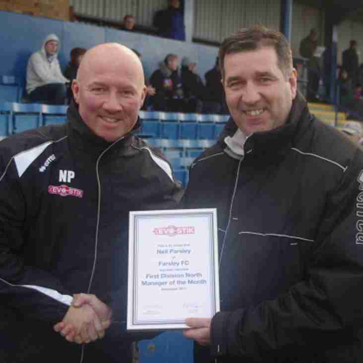 First North Evo-Stik Manager of the Month - November