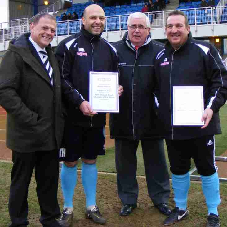 Evo-Stik First South Manager of the Month - December