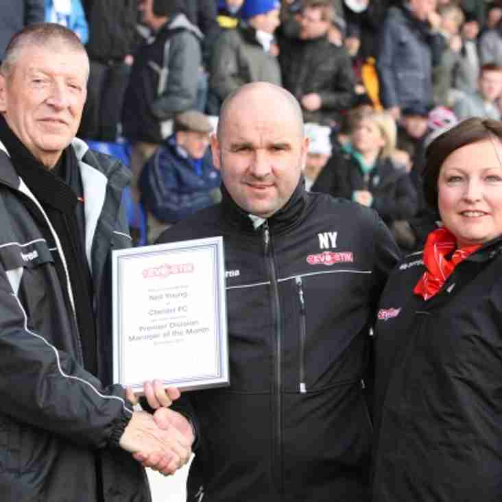 Evo-Stik League Premier Division Manager of the Month - December