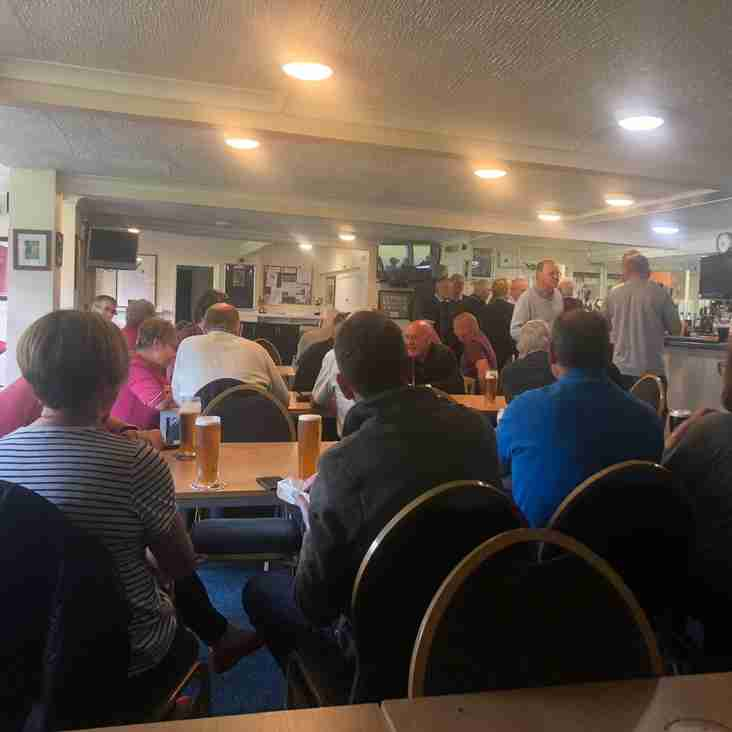 Supporters meeting great success - Many thanks to all who attended next one 5 June
