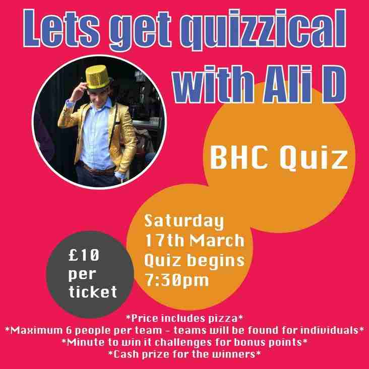 BHC's Big Fat Quiz of the Year!