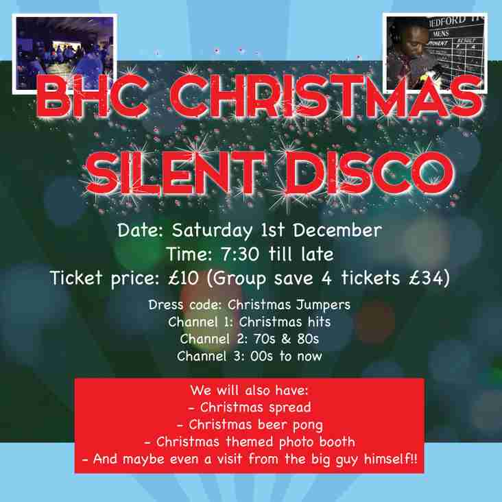Silent Disco & Beer Pong Festive Fun