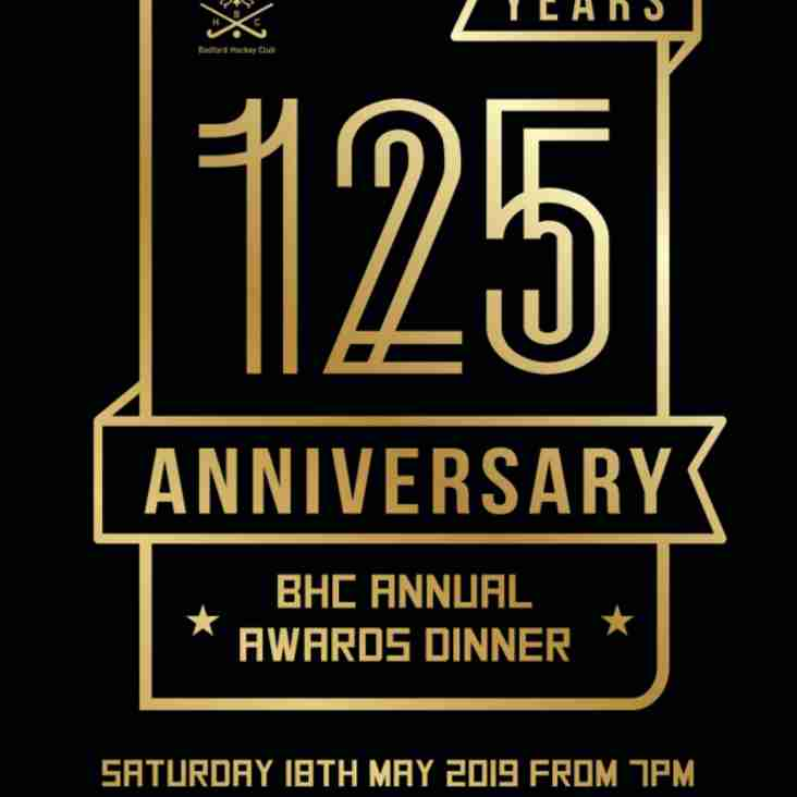 125 Year Anniversary BHC Annual Awards Dinner