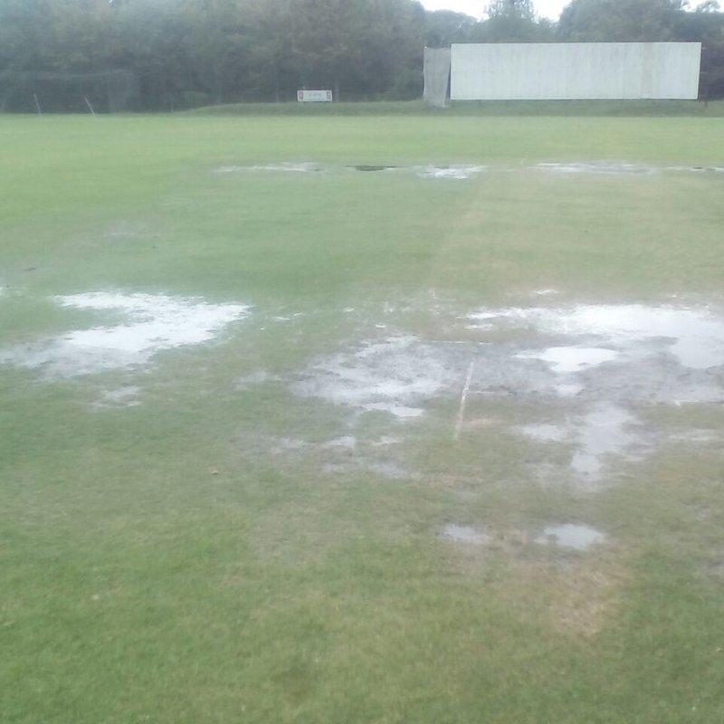 Rain puts the buffers on the prems